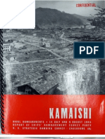 USSBS Report 80, Reports of Ships Bombardment Survey Party, Kamaishi Area