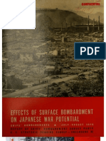 USSBS Report 89, Effects of Surface Bombardments on Japanese War Potential