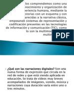 narrativas digitales