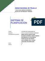 SISTEMA DE PLANEAMIENTO