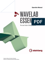 WaveLab Essential