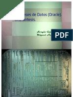 JDBC Oracle