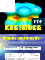 10 Ácidos Sulfónicos
