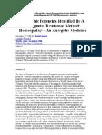 Homeoepathic potencies Lenger