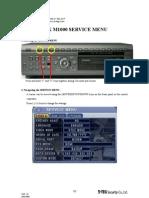 SRX M1000 Service Manual v1