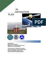 2010_FAA Radio Navigation Plan