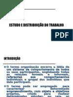 13 - Estudo e Distribuição Do Trabalho