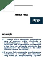 14 - Arranjo Físico