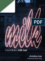 Recipes From Momofuku Milk Bar by Christina Tosi