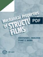 Propriedades Mecânicas Filmes Estruturais