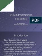 System Programming 1