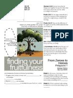 Fruitfulness 13 - Phil 1-25-27 Handout 110611
