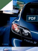 2008 Mazda3 Brochure