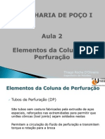 Aula 2 - Elementos da Coluna de Perfuração