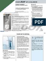 peugeot 607 owners manual 2002