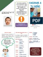 triptico - vacunas