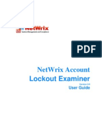 NetWrix Account Lockout Examiner User Guide