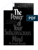 Power of Subconscious Mind Joseph Murphy