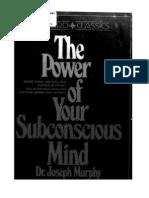 Power of Subconscious Mind Joseph Murphy