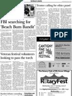 FBI searching for 'Beach Bum Bandit'