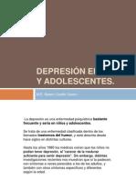Depresión en niños y adolescentes
