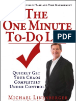 The One Minute To DoList eBook