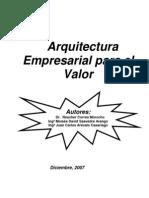 modelo arquitectura corporativa