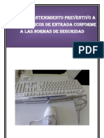 Manual de Teclado, Raton y Escaner