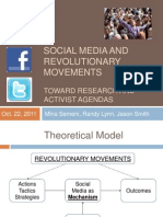 Social Media and Revolutionary Movements