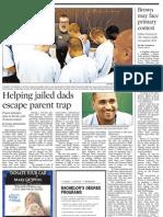 Helping jailed dads escape parent trap