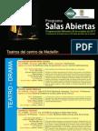 Programación Salas Abiertas - 26 de Octubre 2011