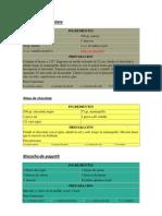 RECETAS DE REPOSTERIA