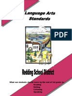 Language Arts Standards Grade 3