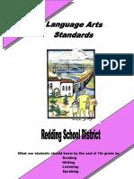 Language Arts Standards Grade 7