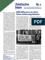 antifaschistische nachrichten 2009 #01