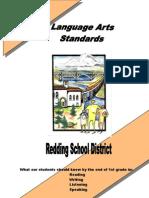 Language Arts Standards Grade 1