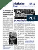 antifaschistische nachrichten 2009 #15