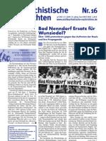 antifaschistische nachrichten 2009 #16