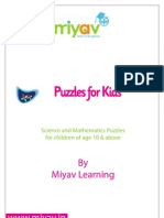 Puzzles for Kids Book