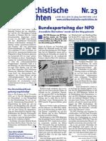 antifaschistische nachrichten 2010 #23