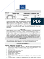 Programa Civil IVContratos FDJ - 2007