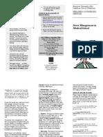 Stress Management Brochure