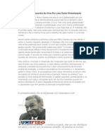 RESENHA POR OUTRA GLOBALIZAÇÃO Milton Santos