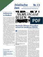 antifaschistische nachrichten 2011 #13