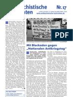 antifaschistische nachrichten 2011 #17