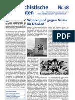 antifaschistische nachrichten 2011 #18