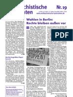 antifaschistische nachrichten 2011 #19