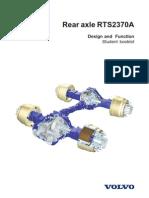 Slides. Rear Axle RTS2370A. Texto[1]