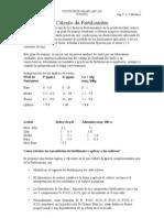 Cálculo de Fertilizantes (Autoguardado)