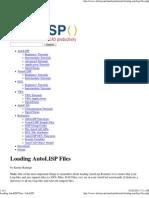 Loading AutoLISP Files _ AfraLISP